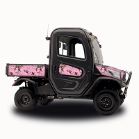 RealTree Xtra Pink - Vinyl Wrap for Kubota RTV-X1100