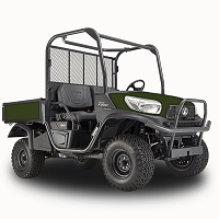 Matte Military Green - Vinyl Wrap for Kubota RTV-X900, X1120