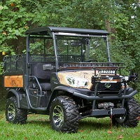 RealTree Xtra Orange - Vinyl Wrap for Kubota RTV-X900, X1120