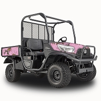 RealTree Xtra Pink - Vinyl Wrap for Kubota RTV-X900, X1120