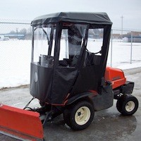 Cab Enclosure for Kubota ZD331 - Requires Canopy