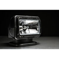 GOLIGHT Halogen Spot Light with Dash Mounted Remote - Black