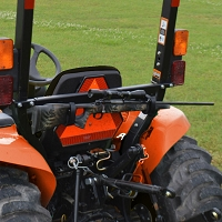 Tag Along Tool & Gun Rack for Tractors and Mowers