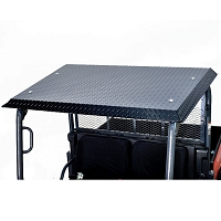 Diamond Plate Canopy for RTV-XG850, X900, X1120 - Black