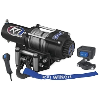 2000lbs UTV Series Winch - Steel Cable