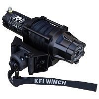 KFI Assault 5000lb Winch (Wide) - Synthetic Cable