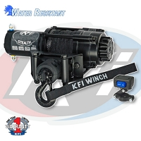 Stealth Series 2500 lb Winch - Synthetic Cable