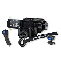 KFI Stealth Series Winch - 3,500 Lb Synthetic Cable