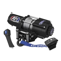 KFI UTV Series Winch - 4,500 Lb Steel Cable