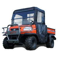 Full Cab Enclosure to fit with Existing Hard Windshield for Kubota RTV-XG850, X900, X1120