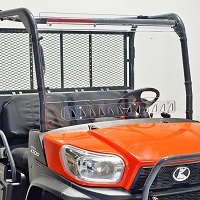 Vented Windshield for RTV-XG850, RTV-X900,  X1120, X1140 - Quantum Coated Polycarbonate