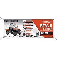 RTV X-Series Roll Cage Banner