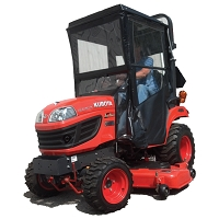 Cab Enclosure for Kubota BX 50, 60, 70, and 70-1 Series Tractors