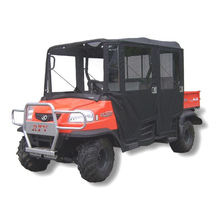 Soft Cab With Hinged Doors And Lexan Windshield For The