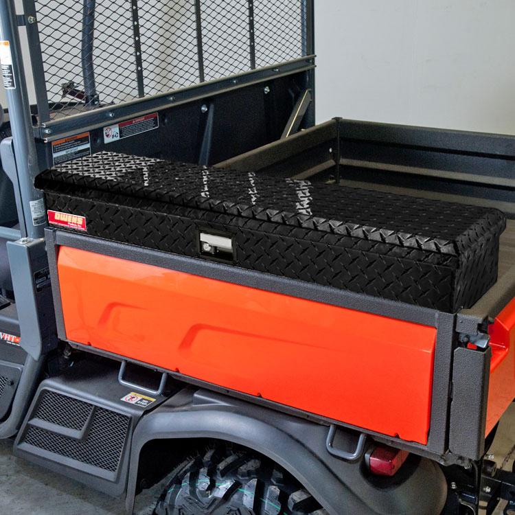 Side Bed Tool Box >> Side Mount Tool Box for the Kubota X-Series - Diamond ...