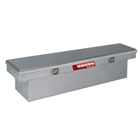 Crossover Tool Box for the Kubota RTV400 & RTV500  - Diamond Plate Aluminum