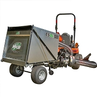 ES36 Estate Series Trailer Lawn Vac with Briggs & Stratton 6.5HP Vanguard Gas Engine
