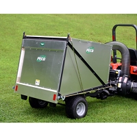ES50 Estate Series - 50 Cubic Foot Trailer Vacuum with 10 HP Briggs & Stratton Vanguard Engine