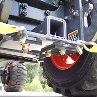 Rear Receiver Hitch & Tie-Down for BX Series