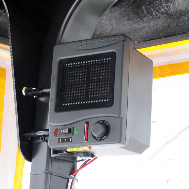 12 Volt Direct Hook Up Ceramic Heater Fan