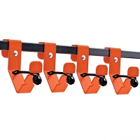 Additional Utility Bed Rack Hooks - (4)