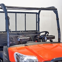 Versa Vent Double Sided Hardcoated Polycarbonate Windshield for the RTV X-Series (formerly SM-25028)
