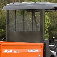 Rear Window Dust Panel for the RTV900