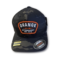 Orange Aftermarket Multicam Flexfit Cap (L/XL) - MULTICAM BLACK