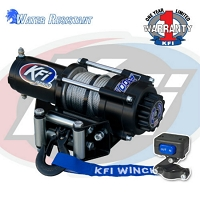 2500lbs UTV Series Winch - Steel Cable