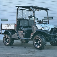 RealTree Xtra White - Vinyl Wrap for Kubota RTV-X900, X1120