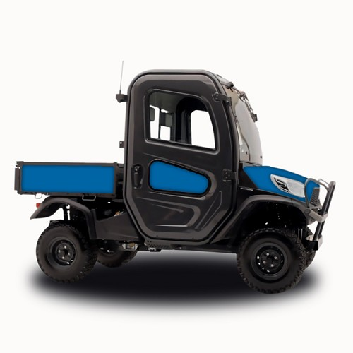 Blue - Vinyl Wrap for Kubota RTV-X1100