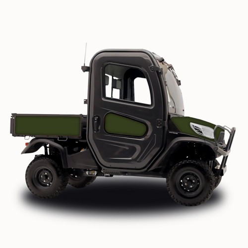 Matte Military Green - Vinyl Wrap for Kubota RTV-X1100