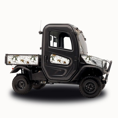RealTree Xtra White - Vinyl Wrap for Kubota RTV-X1100