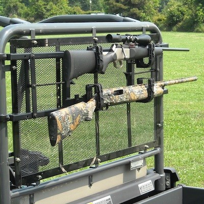 Power Ride Utility Vehicle Rear Gun Rack For Full Size Rtvs
