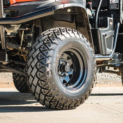 350 Super Mag Tire Assembly Package