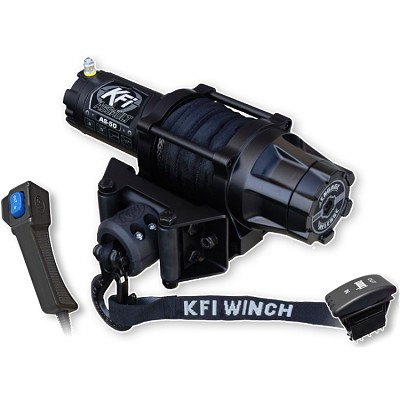 KFI Assault 5000 lb Winch - Synthetic Cable