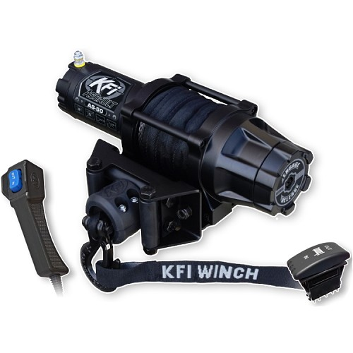 KFI Assault Series Winch - 5,000 lb Synthetic Cable