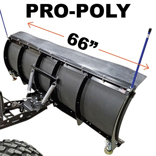 "66"" PRO-POLY Snow Plow Kit"
