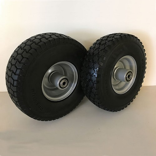 Flat Proof Urethane Tire Upgrade for Standard Rough Cut Mowers (Factory Installed)