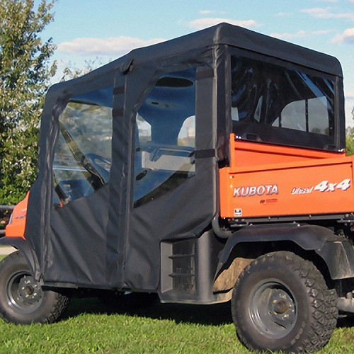 FULL CAB ENCLOSURE TO FIT EXISTING WINDSHIELD FOR KUBOTA RTV1140