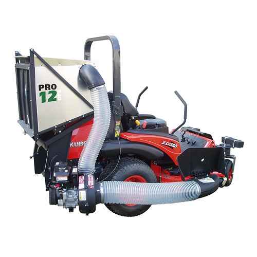 PRO12 DFS Commercial Zero Turn Vac System for Kubota Z300 ZD/ZG Mowers