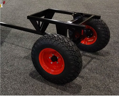 UTILITY TRAILER FRAME - ACCEPTS KUBOTA X-SERIES FACTORY BED