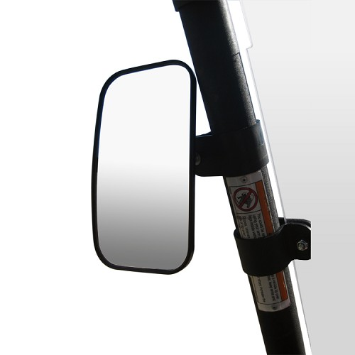 "Universal Side / Rear View Mirror (Single) for Mid-Size RTV - Fits 1.50"" Roll Bar"