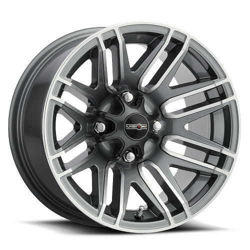 "14"" x 8"" - 112 Assault Gunmetal Wheel"
